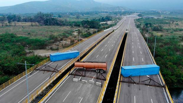 Venezuela: Maduro lässt Grenzbrücke nach Kolumbien blockieren