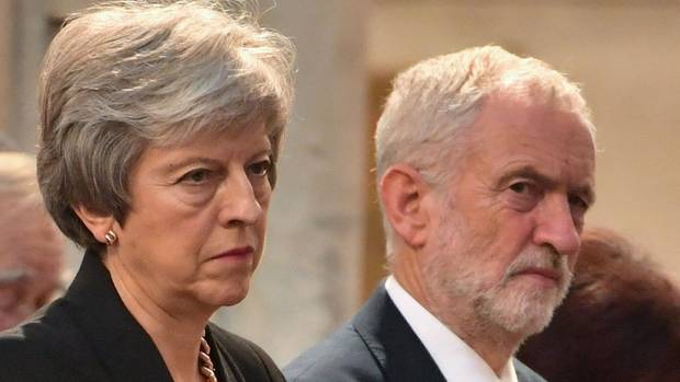 Brexit Jeremy Corbyn stellt fünf Bedingungen an Theresa May