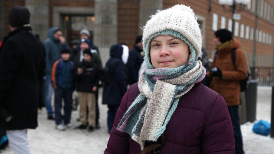 Greta Thunberg Klima Streik