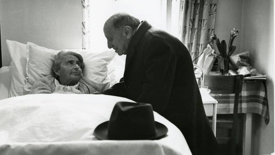 Ehepaar im jüdischen Altersheim, 1964