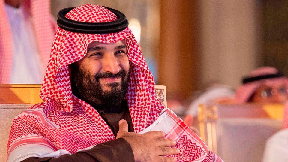 Der saudi-arabischeKronprinzMohammed bin Salman