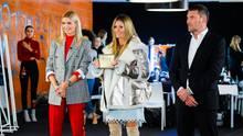 Lena Gercke, Heidi Klum und Michael Michalsky als Juroren in der ersten Folge von GNTM 2019