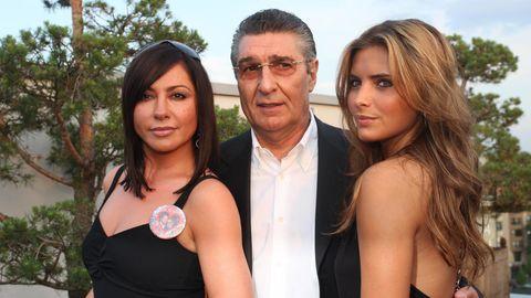 Simone Thomalla und Rudi Assauer mit dessen Ziehtochter Sophia