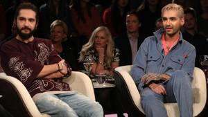"""Tom Kaulitz und Bill Kaulitz bei """"Markus Lanz"""""""