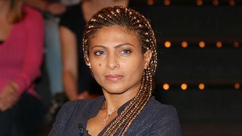 Ensaf Haidar, die Frau des saudischen Bloggers Raif Badawi