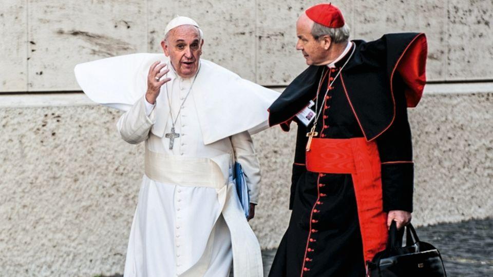 Der Papst und sein Kardinal: Schönborn gilt als wichtigster Verteidiger von Franziskus