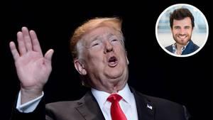 Mit einem zweiten Shutdown in Sicht bleibt Donald Trump kompromisslos