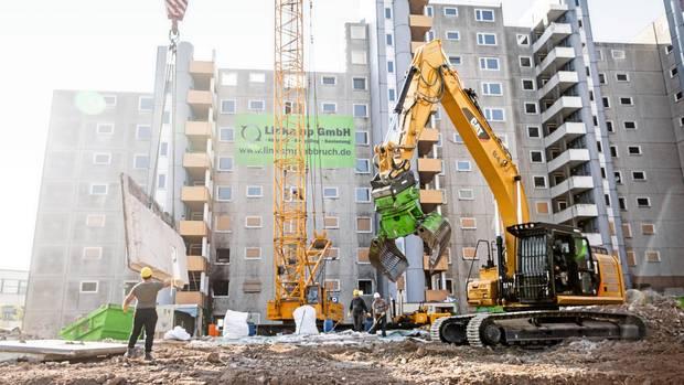 In Wolfsburg werden trotz Wohnungsnot Wohnungen abgerissen
