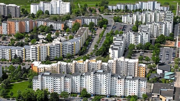 In der Großsiedlung Westhagen aus den 70er Jahren sollten ursprünglich 15.000 Menschen leben