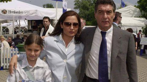 SophiaThomalla mit ihrer Mutter Simone und deren Lebensgefährte Rudi Assauer