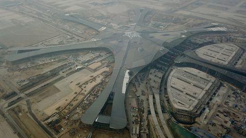 Infrastruktur Flughafen Peking