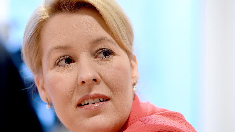 Schummelverdacht bei Doktorarbeit von SPD-Ministerin Franziska Giffey