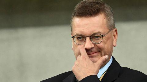 Reinhard Grindel und DFB dementieren die Zahlungen nicht, sagen aber, dass alles ordnungsgemäß war