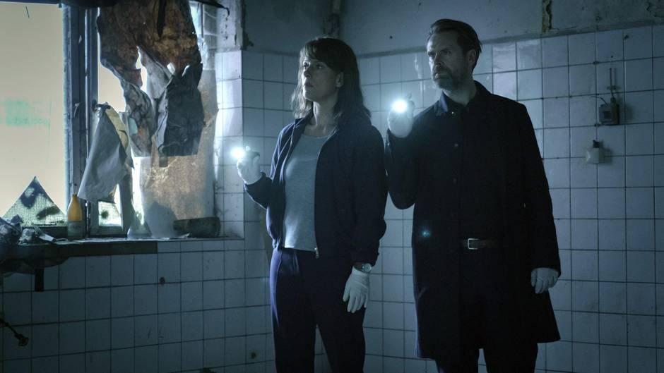 """""""Polizeiruf 110"""" aus Magdeburg mit Claudia Michelsen und Matthias Matschke"""
