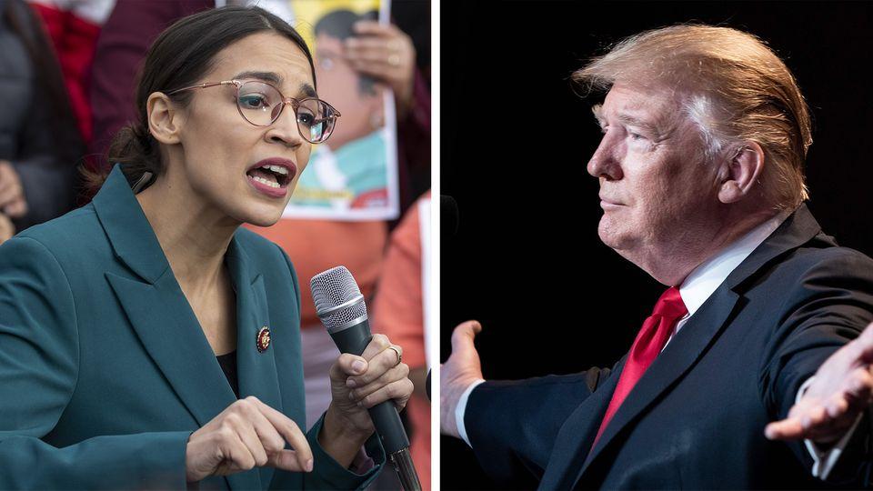 Jüngste Kongressabgeordnete: Trump verspottet Klimaschutz-Initiative - und Ocasio-Cortez keilt bissig zurück