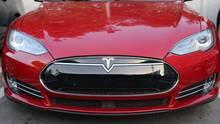 Tesla Model 3 von vorn