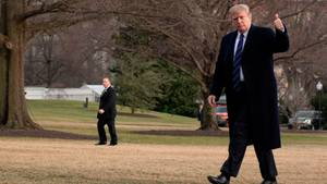 Alles tipptop bei Donald Trump