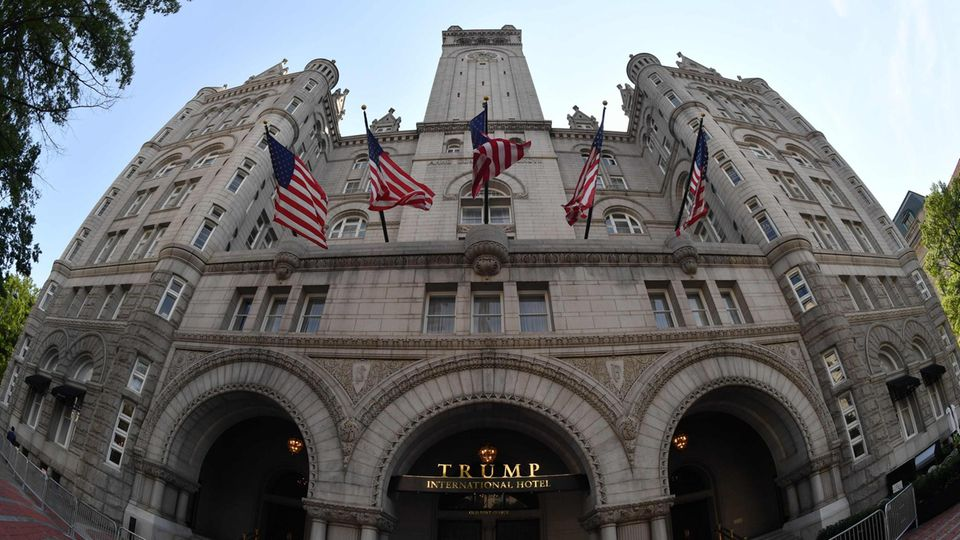 Donald Trumps Hotel in Washington