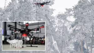 Nach Gatwick-Chaos: Auch Bundeswehr präsentiert Drohnen-Abfang-Drohne