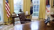 Oval Office im Weißen Haus, das Büro von US-Präsident Donald Trump