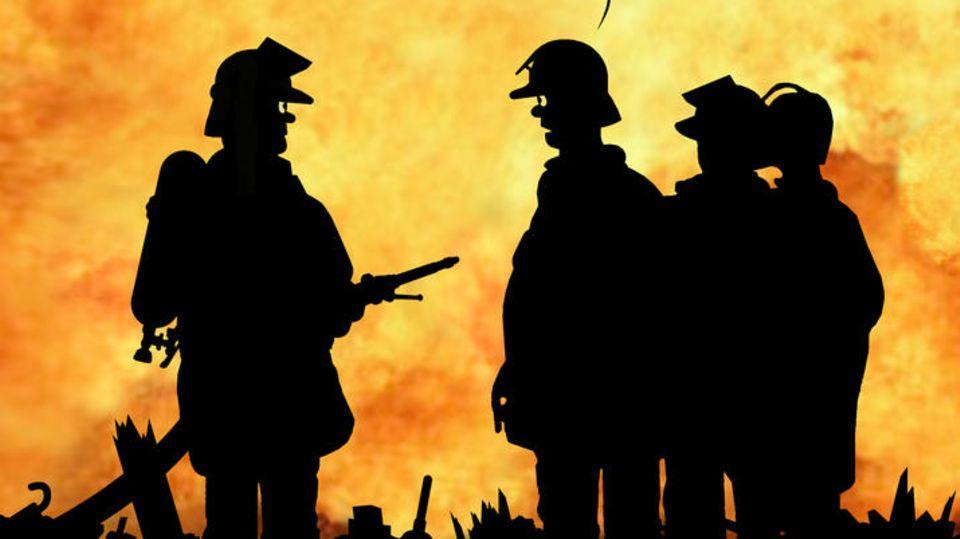 Cartoon zum Tag des Notrufs: Wo bleibt Feuerwehrmann Horst?