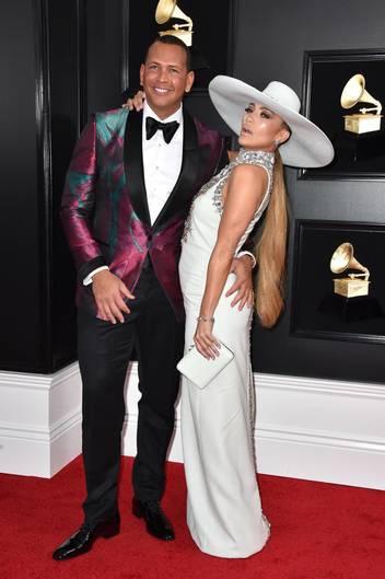 Jennifer Lopez bei den Grammys 2019