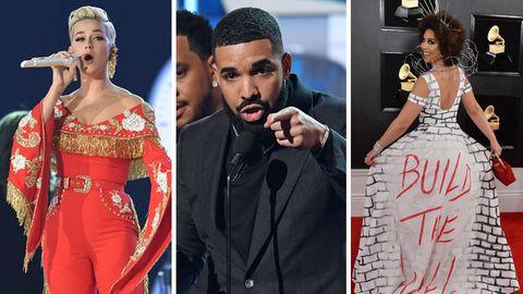 Katy Perry, Drake, Joy Villa: Die Aufreger der Grammys