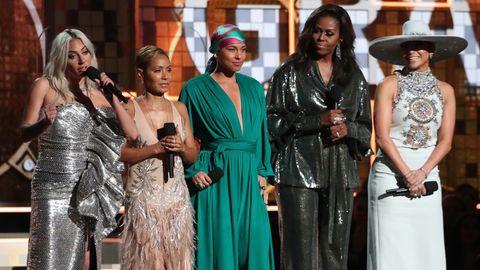 Michelle Obama hielt bei den Grammys 2019 eine Rede