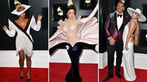 Grammy-Verleihung 2019: roter Teppich