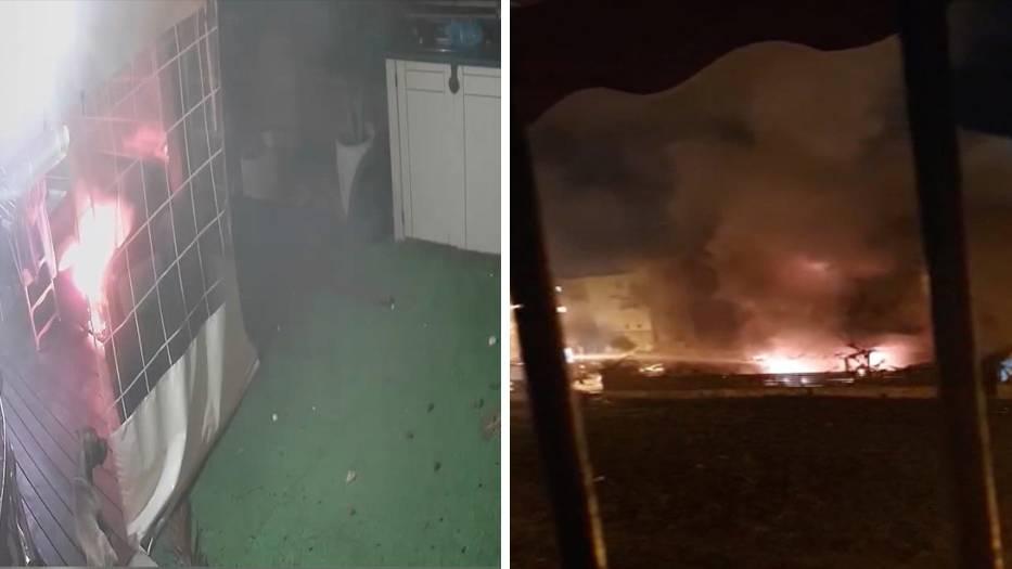 Tel Aviv: Hund zündet Feuer in Wohnhaus an