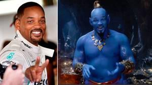 """Will Smith spielt den Flaschengeist Dschinni in der Disney-Realverfilmung von """"Aladdin""""."""