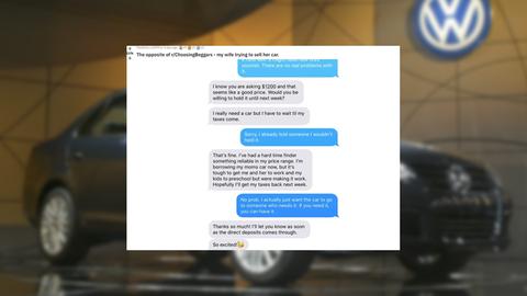 USA: Frau will Auto kaufen – und erfährt die Überraschung ihres Lebens