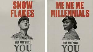 Die Älteren waren von der Kampagne entsetzt, doch den Jungen gefiel sie. Die Armee ist mit dem Ergebnis zufrieden.
