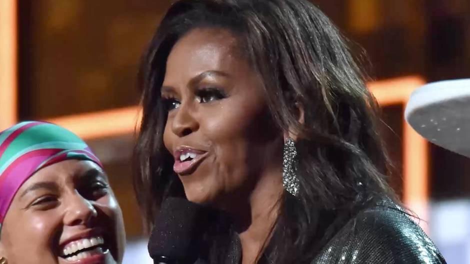 Überraschung bei Preisverleihung: Michelle Obama ehrt ihre Freundin Alicia Keys mit bewegenden Worten