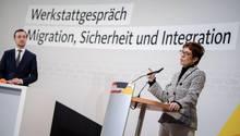 """Annegret Kramp-Karrenbauer auf dem """"Werkstattgespräch"""" der CDU"""