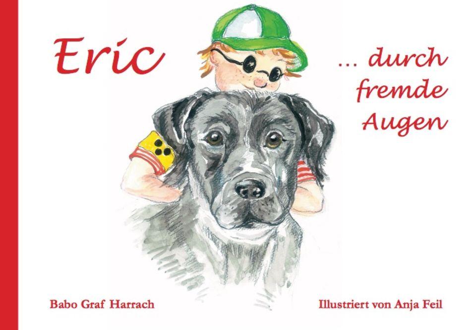 Cover mit Eric und dem Blindenhund Watson