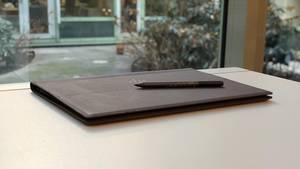 Laptop Spectre Folio 13 von HP aus Leder