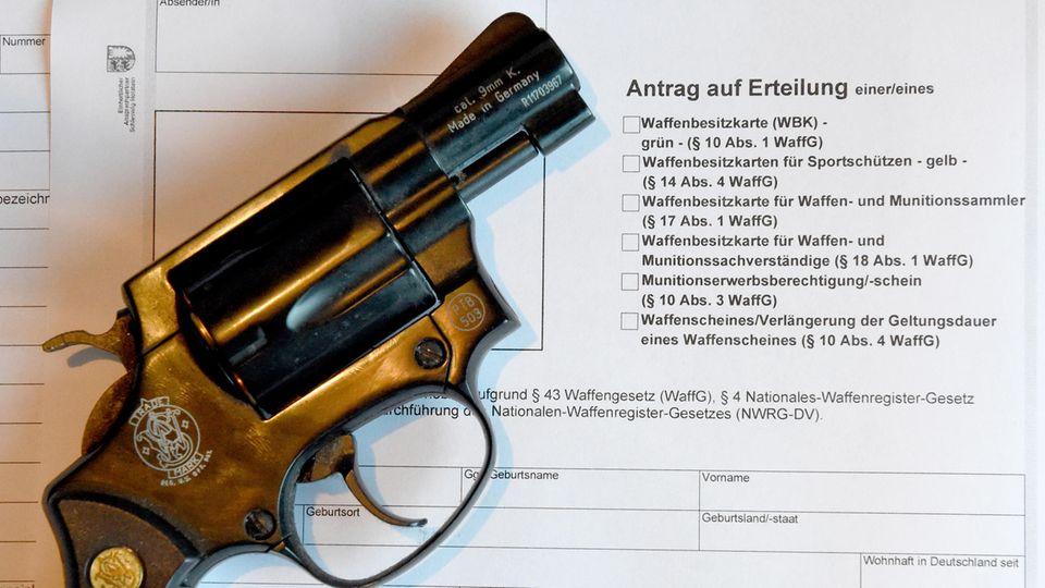 So regelt Deutschland den Waffenbesitz - und so die USA