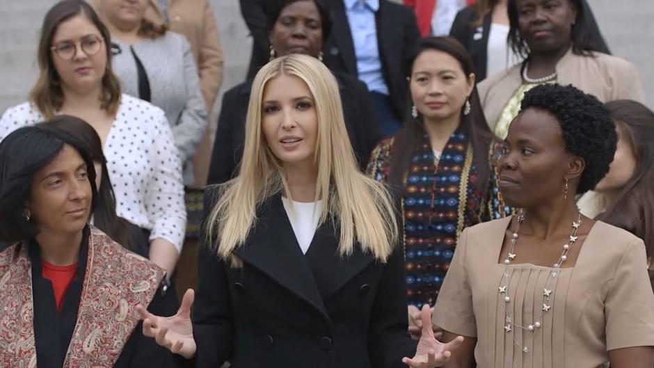 Scharfe Kritik an First Daughter: Ivanka Trump will Frauen helfen und wird von Anhängern ihres Vaters angegriffen