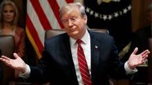 """""""Ich denke nicht, dass es einen weiteren Shutdowngeben wird"""", sagte DonaldTrump"""