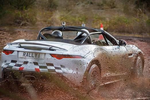 Jaguar F-Type Rallye Car