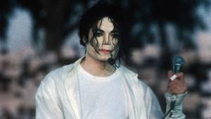 Michael Jackson auf einer Aufnahme aus dem Jahr 1993