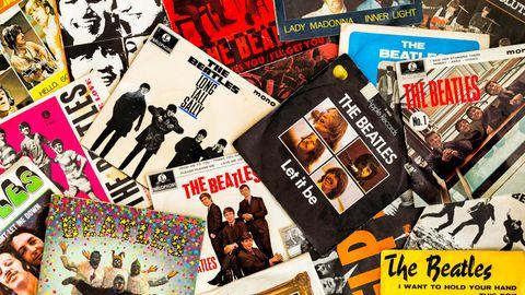 Plattencover von den Beatles