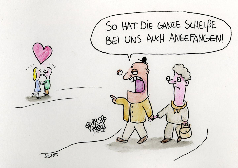 Cartoon liebe ist ᐅ Liebe