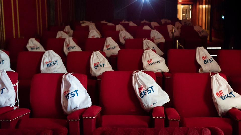 Der Kinosaal im Weißen Haus