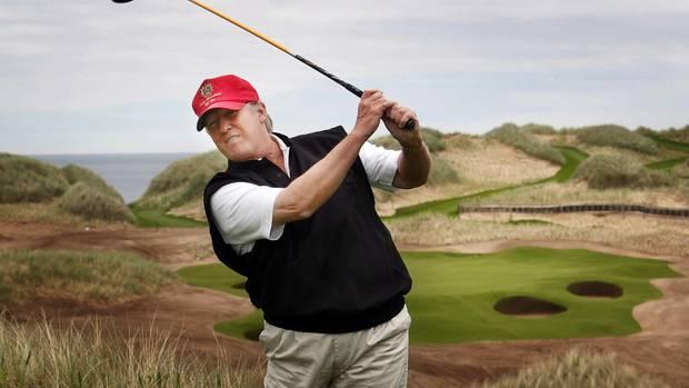 Donald Trump hat einen neuen Golf-Simulator - nicht der einzige Hobbyraum im Weißen Haus