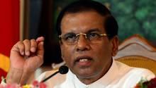Sri Lankas PräsidentMaithripala Sirisena