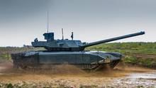 T-14 Armata (MBT) während einer Übung