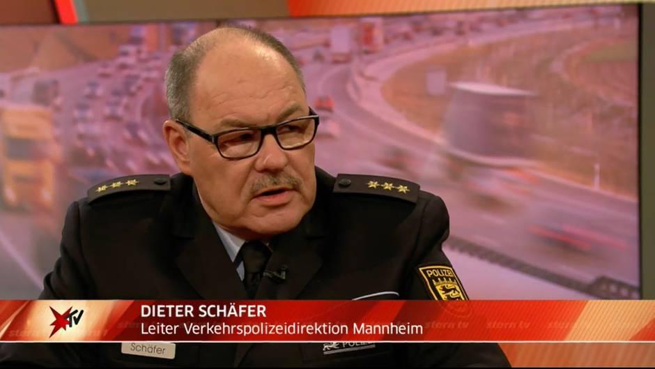 """stern TV-Studiotalk : Dieter Schäfer: """"Ein Teil der alkoholisierten Fahrer hat 1,6 Promille im Blut"""""""