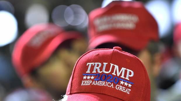 Donald Trump und seine Keep America great-Kappe